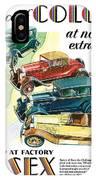 Essex Challenger Vintage Poster IPhone Case