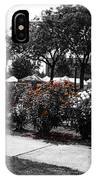 Esther Short Park Rose Garden IPhone Case