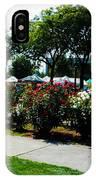 Esther Short Park Rose Gardens IPhone Case