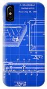 Etch A Sketch Patent 1959 - Blue IPhone Case