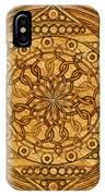 Eternity Mandala Leather IPhone Case