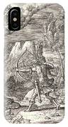 Etienne Delaune French, Ca. 1519-1583 After Giovanni IPhone Case