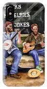 Eureka Springs Novelty Shop String Quartet IPhone Case