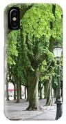 European Park Trees IPhone Case