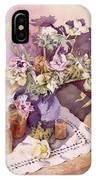 Evening Anemones IPhone Case