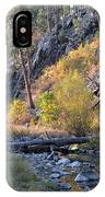 Evening Approaches Spring Creek IPhone Case