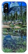 Evening At Cathedral Lakes IPhone Case