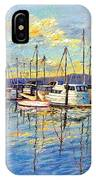 Evening At Sausalito IPhone Case