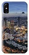 Evening City Lights IPhone Case