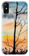Evening Comes IPhone Case
