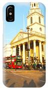 Evening In London IPhone Case