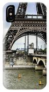 Evening In Paris IPhone Case