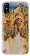 Evening Lights On St. Mark Square IPhone X Case