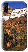 Evening On The Great Divide Painted IPhone Case