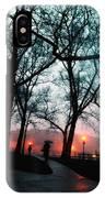 Evening Rain Photofresco IPhone Case
