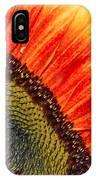 Evening Sun Sunflower IPhone Case