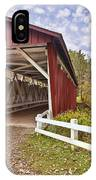 Everett Covered Bridge IPhone Case