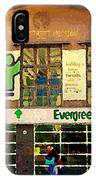 Evergreen Yonge St  Scenes Building A Better Toronto One Person At A Time Community Center Cspandau IPhone Case