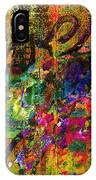 Evermore Graffiti IPhone Case