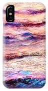 Everything Is Motion - Abstract Art IPhone Case by Jaison Cianelli