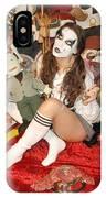 Evil Schoolgirl 166 IPhone Case