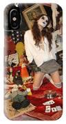 Evil Schoolgirl 207 IPhone Case