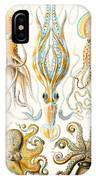 Examples Of Various Cephalopods IPhone Case