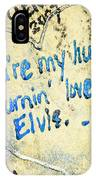 Excerpts From The Wall Memphis IPhone Case