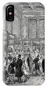 Exhibition Of The City Of London Society Of Artists IPhone Case