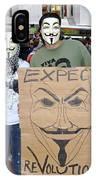 Expect Revolution IPhone Case