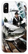 Expedition Great White Crew Conducts IPhone Case