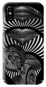 Exploration Into The Unknown Bw IPhone Case