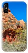 Exploring The Upper Plateau Of Zion IPhone Case