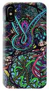 Exporation Of The Deep Blue IPhone Case