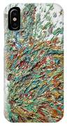 Expressionist Cat Oil Painting.2 IPhone Case