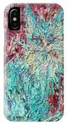Expressionist Cat Oil Painting.3 IPhone Case