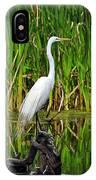 Exquisite Egret IPhone Case