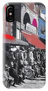 Extras The Great White Hope Set Recreation Reno Nevada July 4th 1910  IPhone Case
