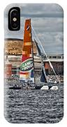 Extreme 40 Team Wales Landrover IPhone Case