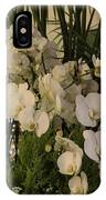 Exuberant Orchid Display IPhone Case
