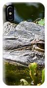 Eye Of The Alligator IPhone Case