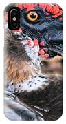 Eye Of The Muscovy Duck IPhone Case