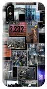 Eyes Down From The 103rd Floor Collage IPhone Case