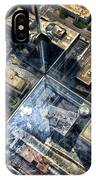 Eyes Down From The 103rd Floor One Small Step IPhone Case