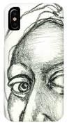 Eyes - The Sketchbook Series IPhone Case