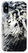 Eyjafjallajokull Glacier And Ashes IPhone Case