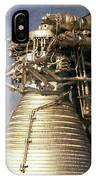 F-1 Rocket Engine IPhone Case