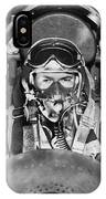 F-84 Thunderjet Pilot IPhone Case