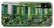 Facade Of Claude Monets House, Giverny IPhone X Case
