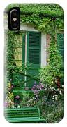 Facade Of Claude Monets House, Giverny IPhone Case